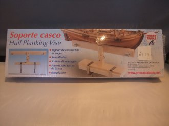 Soporte Caso Hull Planking Vise