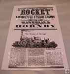 Hornby Rocket Instructions