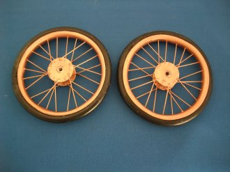 Vintage air plane wheels