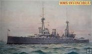 HMS INVINCIBLE (Aug 1914) (F)