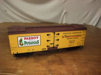 ARISTO TRAINS WOOD REEFER CAR