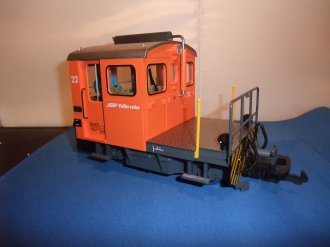 LGB RhB SWITCHING TRACTOR 21411
